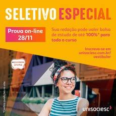 An Unisociesc Provas Online Seletiva | nov 2020 | 230px